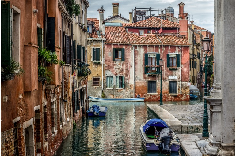 Cloudy Day in Venice